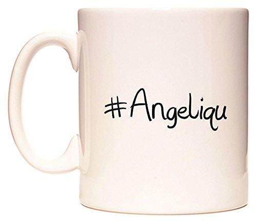 #Angeliqu Becher von WeDoMugs