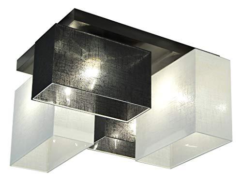 Plafoniere Da Salotto : Plafoniera illuminazione a soffitto jls44scwed in legno massiccio