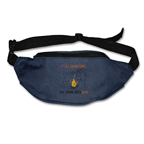 It's All Fun Pouch Running Belt Travel Pocket Outdoor Sports ()