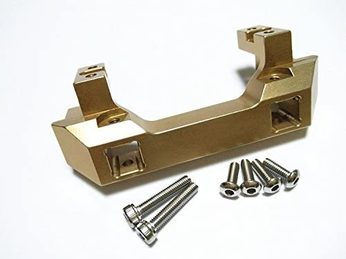 for 1/10 Crawler Crawler Crawler Car TRX/4 82056-4 Aluminum Front Bumper Mount / Servo Mount Upgrade Part Gold | Mende  1eb092