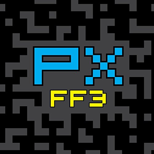 PX FF3: Final Fantasy III (FF3) Pixel Art Sketchbook, Sketchpad and Drawing Pad for Pixel Artists, Indie Game Developers, Retro Video Game Makers & Pixel Art Character Designers (Video Maker Game)
