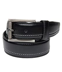 Walletsnbags Formal trouser belt - Texas (B 39_Black_30)