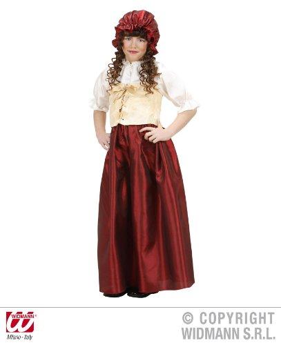 Kostüm Kellner Kinder Für (KINDERKOSTÜM - BÄUERIN - Größe 140)