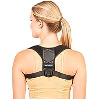Corrector de Espalda Para Hombre y Mujer Talla Única - Chaleco Corrector de Postura Enderezador de Espalda Transpirable Incluye Faja para Dolor de Espalda, Bolsa de Transporte y eBook de Ejercicios
