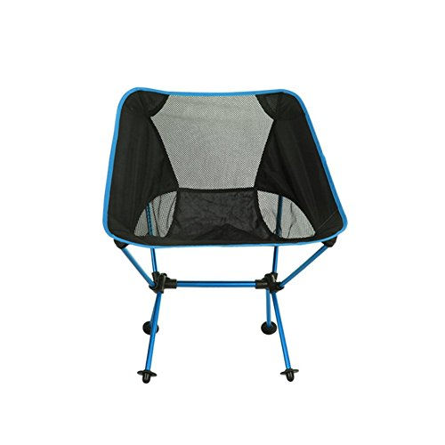 Blaue Strand-klapp-stühle (Gaogas Portable Camping Chair - Compact Ultralight Klapp Backpacking Stühle In Einer Tragetasche, Heavy Duty 300 Lb Kapazität, Für Wanderer, Camp, Beach, Angeln, Outdoor,Blue)