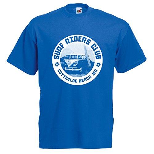 Hawaiian Style Tube Top (Printmeashirt  Herren Top Blau blau XXL/47