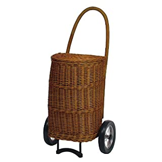 Andersen XXL basket shopping trolley Natura Terra, Max. load capacity: 40 kg, Without lining, Volume: 50L