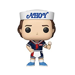 Funko Pop Steve con helado y gorra Ahoy (Stranger Things – Tercera temporada 803) Funko Pop Stranger Things