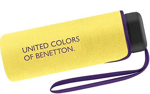 United Colors of Benetton - Plegable Mujer Amarillo