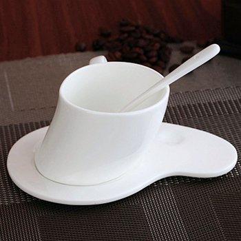 HONGYUANZHANG Tasse Kaffee Tee Ware Keramik Tasse Schwarz Tee Tasse Keramik Kaffeetasse. 150 Ml