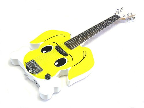 Für kleine Fellnasenfreunde - Kindergitarre / E-Gitarre -Emma- voll spielbar