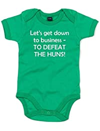Let's Get Down To Business, Printed Baby Grow