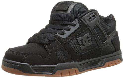 DC Shoes Stag, Sneaker Uomo, Nero (Black/Gum), 42,5 EU