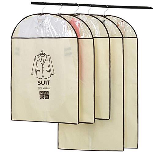 lquide Staubschutzkleidung, Vlies hängen einfach, waschbar, faltbar mit Reißverschluss, Gehäuse, fünfteiliges Sichtfenster, geeignet für Schlafzimmer, Wohnzimmer, Hotel Vlies Hängen