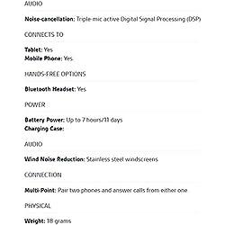 Plantronics Voyager Legend Oreillette Bluetooth, triple micros, capteurs intelligents