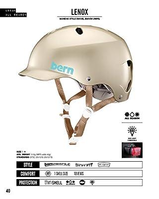 Bern Women's Lenox Eps Cycling Helmet by Bern