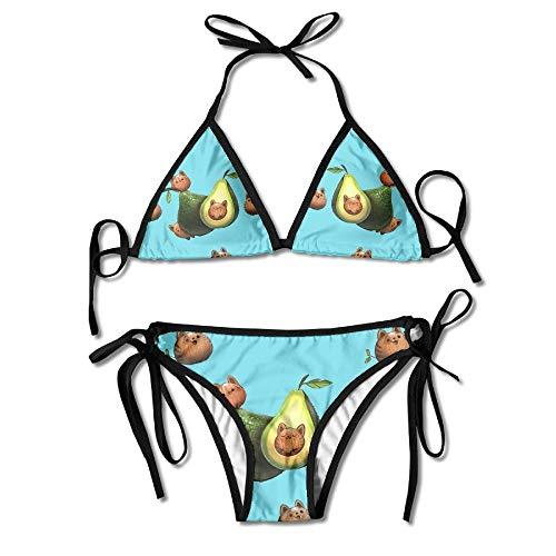 Hard-Working Women Bikini Bottoms Sexy Weave Swimsuit Solid Color Bandage Bikini Swimwear Swim Trunks Bikini Tanga Swimsuit Thong Shorts A1 Elegant Appearance Two-piece Separates