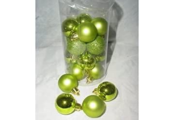 Christmas Concepts® Pack of 20 - 30mm Baubles - Shiny Matte ...