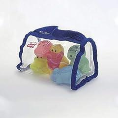 Idea Regalo - Okbaby 38460000 Giochi d'Acqua Piccoli amici galleggianti per bagnetto per neonati e bambini