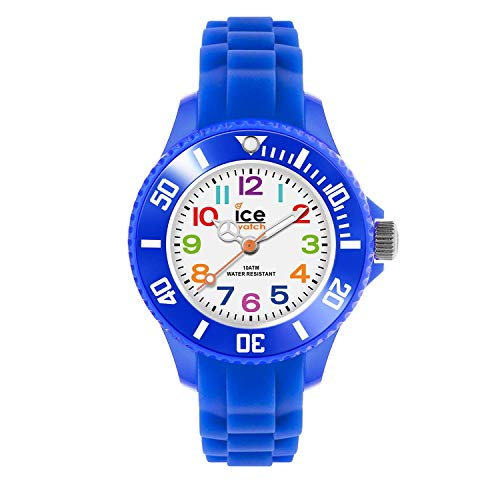 Ice-Watch - ICE mini Blue - Boy's wristwatch with silicon strap - 000745 (Extra small)