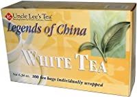 Legends of China White Tea-100 bags Brand: Uncle Lees Tea