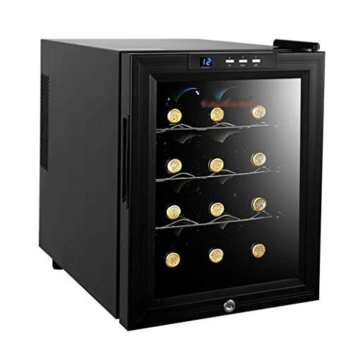 Sonw Yang Freistehender Weinkeller-Drogenkühler-Kompressor Wein- und Zigarren-Kühlschrank mit intelligentem Thermostat-Chip-LED-Licht - Sichere Kindersicherung, Weinregal aus Edelstahl (Weinregal Top)