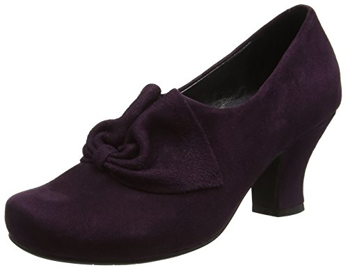 Hotter Damen Donna Pumps, Violett (Dark Plum), 42 EU