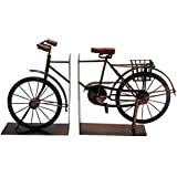 Ages Behind Classic Style Bicycle Bookends 9 inches High x 8 inches Wide Each Piece