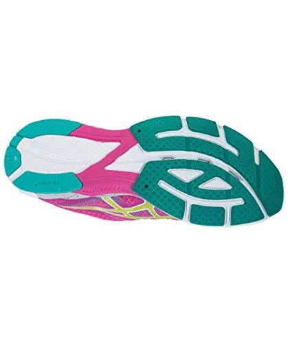 Chaussures de Course pour Femme Gel DS Racer 10wpink/citron/vert Rose - rose bonbon