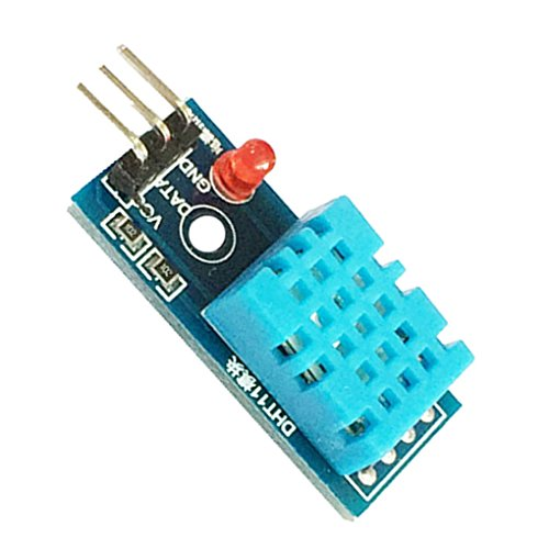 Elenxs 6490 DHT11 Feuchtigkeit Temperatur Sensor Modul Blau langlebig