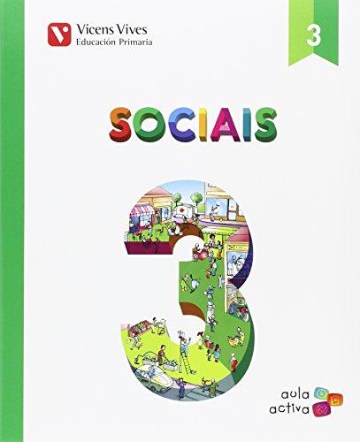 SOCIAIS 3+ SEPARATA (AULA ACTIVA): Sociais 3. L. Alumno E Separata Sociais 3. Aula Activa: 000002 - 9788468237893 por Margarita Garcia Sebastian