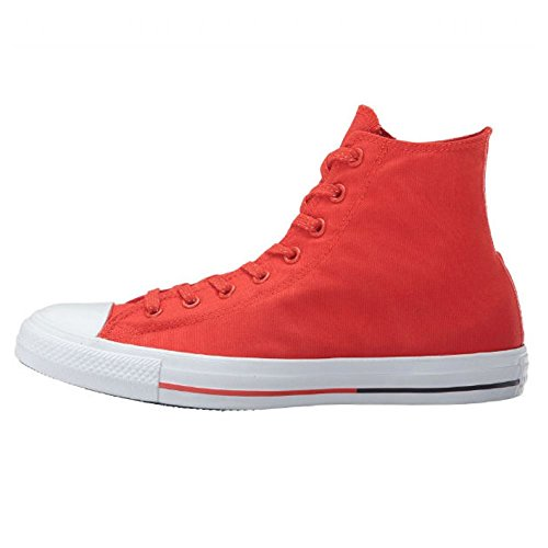 Converse Womens Chuck Taylor All Star Hi Counter Climate Canvas Trainers Rouge