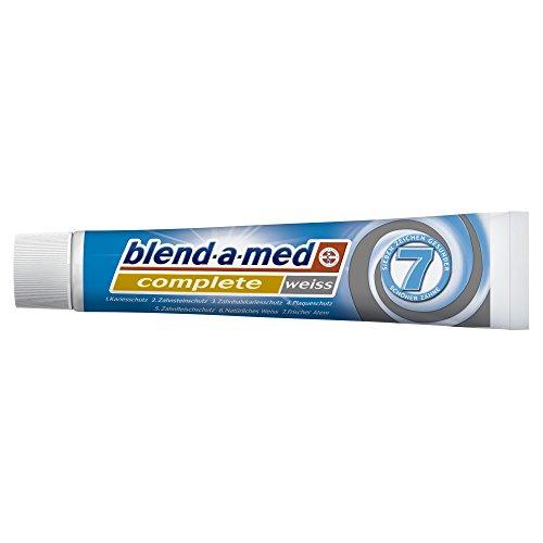 Blend-a-med Complete Weiß Zahncreme, 75 ml