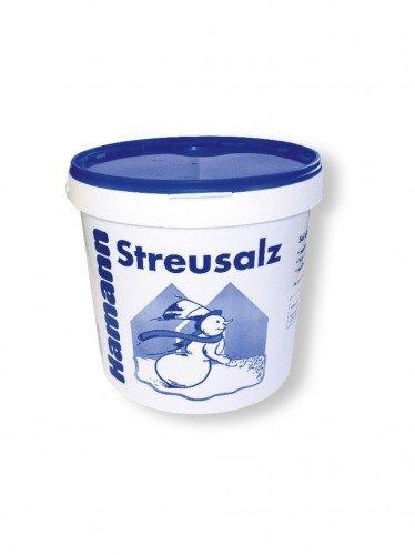 Qualitäts Streusalz 10 kg Eimer- Deutsches Steinsalz leicht streubar & hoher Anteil tauwirksamer Substanzen