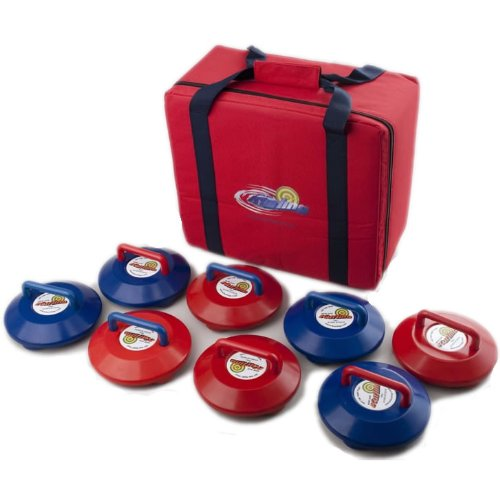 New Age Kurling Stones Competition Set plus Carry Case