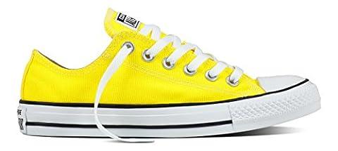 Converse Ctas Ox, Sneakers Homme, Jaune (Fresh Yellow), 38 EU