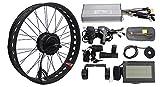 HalloMotor BAFANG 36V 250W Freehub Fat Tire Cassette Rear Wheel 190mm Ebike Conversion 20' 24' 26'...