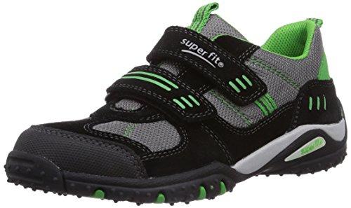 Superfit SPORT4 400224, Jungen Sneakers, Schwarz (SCHWARZ KOMBI 02), 33 EU