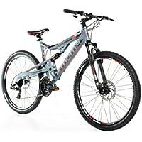 "Vélo Tout Terrain 27,5"" VTT SHIMANO, aluminium, double disque et suspension"