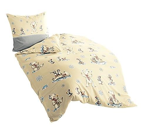 8426–80 irisette dublin parure de lit en flanelle avec housse
