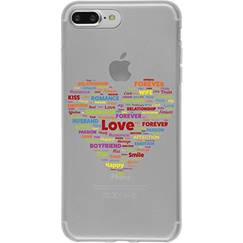 PhoneNatic Apple iPhone 8 Plus Custodia in Silicone pride M4 Case iPhone 8 Plus + pellicola protettiva Disign:05