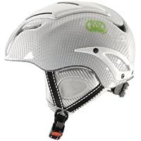 Kong Kosmos - Casco completo completamente equipado Carbono, color blanco, L/XL