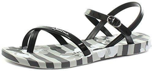 Ipanema Brasil Fashion Damen Sandalen, Schwarz, Größe 41/42