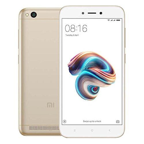 Xiaomi Redmi 5A, Smartphone con Tarjeta SIM dual 5.0', 2 GB, 16 GB, 13 MP, Android, Oro