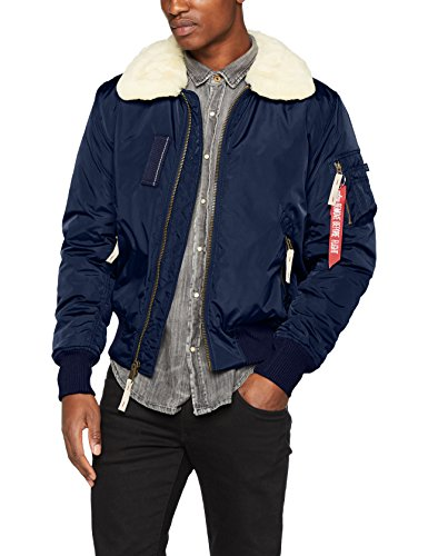 Alpha Industries Herren Jacke Injector III, Blau (Rep.Blue 07), XX-Large