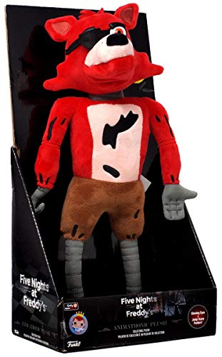 "FIVE NIGHTS AT FREDDY'S: Foxy 13"" Animatronic Plush"
