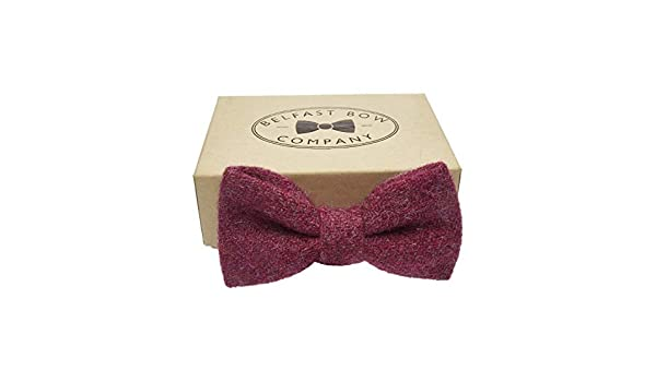 Handmade Bow Tie in Pale Pink Gift Boxed Adult /& Junior sizes available