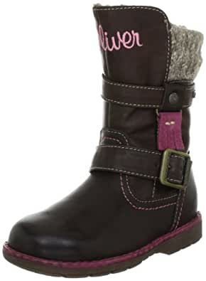s.Oliver Casual 5-5-36431-29, Mädchen Stiefel, Braun (MOCCA 304), EU 25