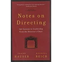 Notes on Directing (Performance Books)