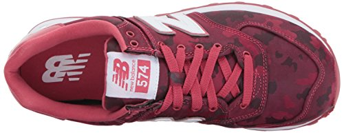 Nuovo Equilibrio Damen Wl574 Sneakers Rot (rosso)